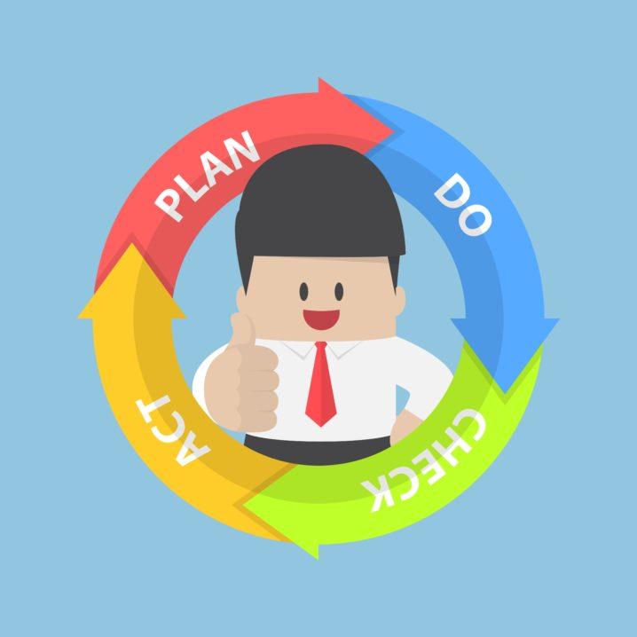 目的実現のためのアウトプットとフィードバックの健康的な考え方
